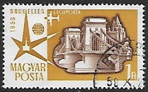 Hungary # C179 - Brussels World Fair - used -  (GR24)