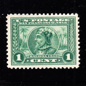US 397 1c Panama-Pacific Mint XF OG NH