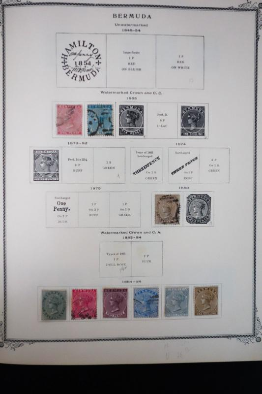 Bermuda 1800s to 2005 Vintage Stamp Collection