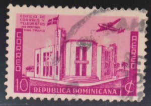Dominican Republic Scott C40 Used stamp