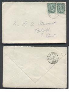 Canada #3681 - 1c(2) Edward-Perth Cnty-Milverton,Ont-Mr 2