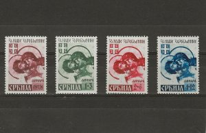 German Occupation of Serbia 2NB7c-10c MNH (409368-1)