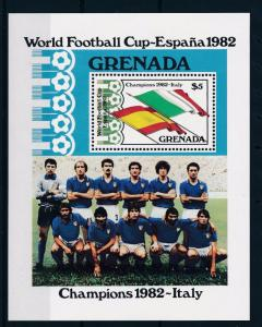 [59332] Grenada 1982 World Cup Soccer Football Spain MNH Sheet