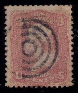 US Sc 64b Used Target Cancellation Very Fine