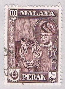 Malaya Perak 132 Used Sultan Yussaf Shah (BP2276)