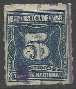 CUBA REVENUE Y082