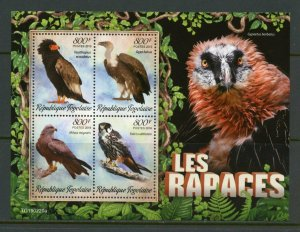 TOGO 2019 BIRDS OF PREY SHEET MINT NEVER HINGED
