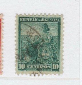 A3P19F19 Argentina 1899-1903 10c used