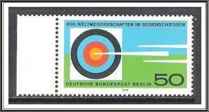 Germany Berlin #9N428 Archery Championships MNH