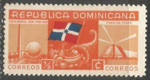 DOMINICAN REPUBLIC 342 MOG R9-172-5