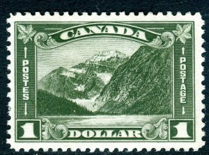 CANADA-1930 $1 Olive Green.  An unmounted mint example Sg 303