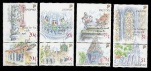 Singapore 588 - 595 Pairs MNH