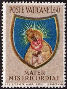 Vatican City SC#191 60£ Closing of the Marian Year (1954) MNH