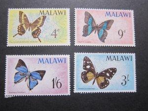 Malawi 1966 Sc 37-40 set MNH