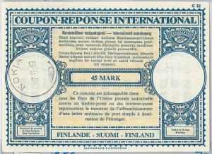 61044 - COUPON RESPONSE INTERNATIONAL London Model: GERMANY 1939