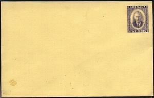 GRENADA GVI 5c envelope fine unused........................................19077