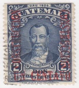 Guatamala, Sc # 235, Used, 1929, Pres. Barrios