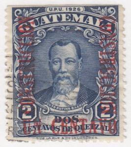 Guatamala, Sc # 235, Used, 1929, Pres. Barrios