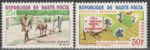 Burkina Faso #171-2 MNH F-VF  (V371)