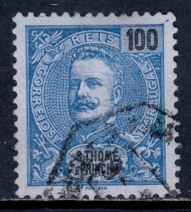 St. Thomas and Prince Islands - Scott #53 - Used - SCV $2.00