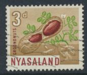 Nyasaland SG 202  SC# 126  Used  Ground Nuts    see details