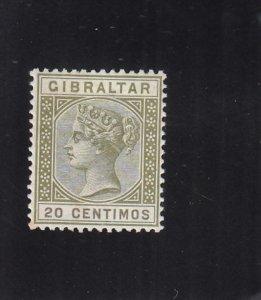 Gibraltar: Sc #31A, MH  (34521)