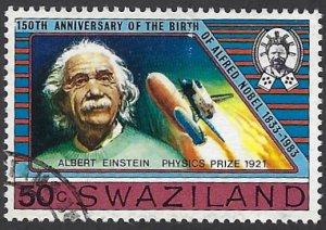 pb3441 Swaziland 438 used cv 2.75 bin $1.25