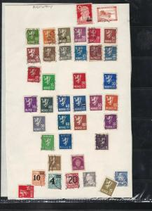 norway stamps page ref 17984