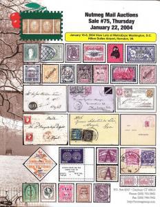 Nutmeg Stamp Sales - Worldwide, Nutmeg 75