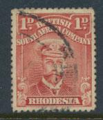 British South Africa Company / Rhodesia  SG 193 Used perf 14 see scans & details