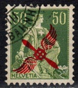 Switzerland #C2  F-VF Used  CV $110.00   (X491)