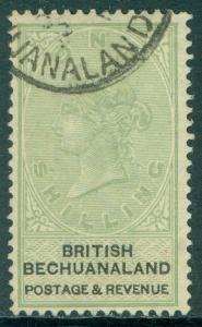 BECHUANALAND : 1888. Stanley Gibbons #18 Very Fine, Used. Nice color. Cat £160.