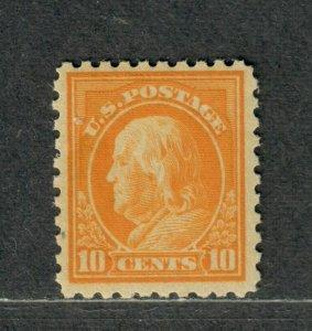 US Sc#472 M/H/F-VF, Perf 10 Unwmk, Cv. $115