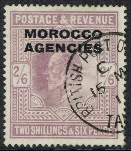 MOROCCO AGENCIES 1907 KEVII 2/6 USED