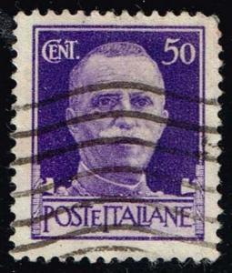Italy #221 Victor Emmanuel III; Used (0.25)