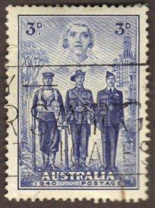 Australia #186 used soldiers CV$7