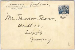 56467 -  JAPAN  - POSTAL HISTORY:  COVER to GERMANY