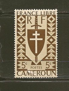 Cameroun 282 Lorraine Cross Mint Hinged