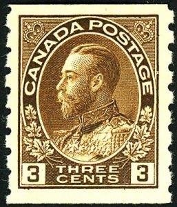 Canada #134 MINT OG NH
