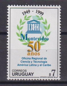 Uruguay 1999 The 50th Anniversary of the Regional Office of Science and Technolo