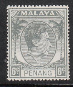 Malaya Penang 1949 Sc 8 6c MH