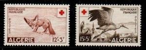 Algeria Scott B88-9 Mint NH (Catalog Value $18.00)