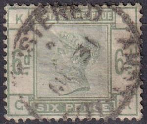 Great Britain #105 F-VF Used  CV $240.00