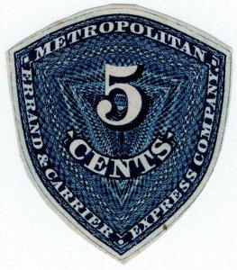 (I.B) US Local Post : Metropolitan Express 5c