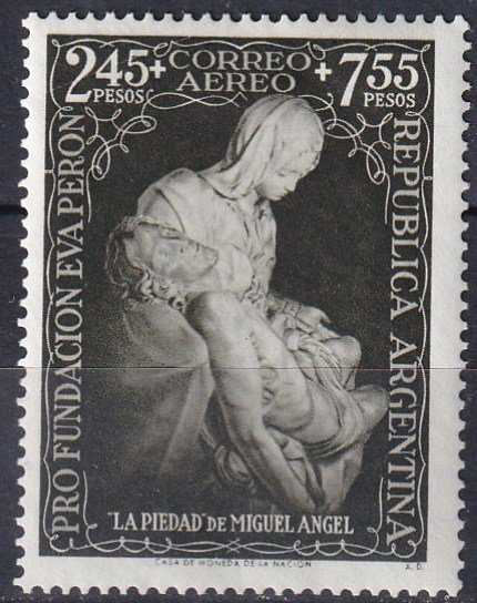 Argentina #CB6 F-VF Unused CV $22.50 (Z7183)