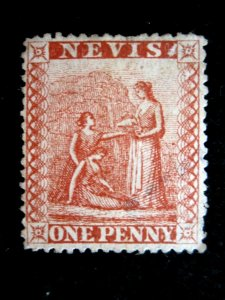 NEVIS - SCOTT# 14A - USED - CAT VAL $30.00