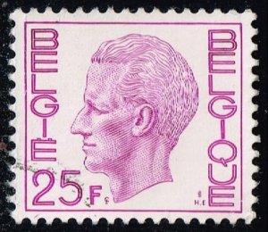 Belgium #777 King Baudouin; Used (0.25)