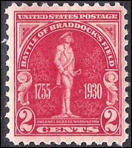 688 Mint,OG,HR...SCV $0.90