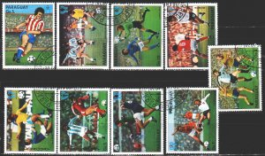 Paraguay. 1978. 3081-89. Argentina-78, football. USED.
