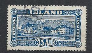 ICELAND SC# 147 FVF/U 1925